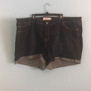 NWT Torrid Denim Shorts (Size: 30)